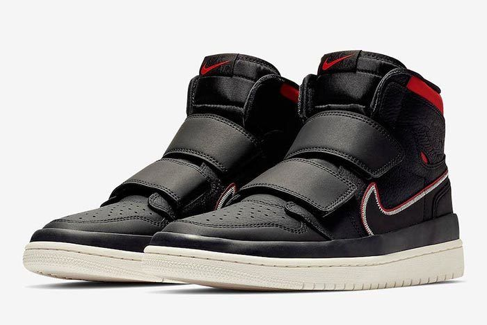 Air Jordan 1 Double Strap Red Black 1
