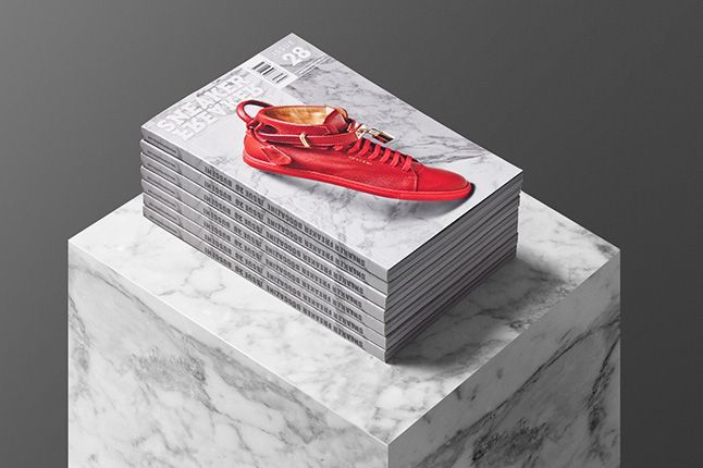 Buscemi Issue 28 Covers Display Dark Small
