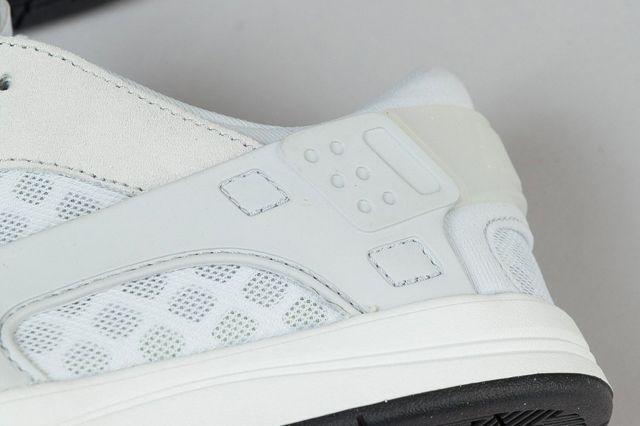 Nike Sb Eric Koston Huarache Shoes Summit White Pure Platinum Black 7