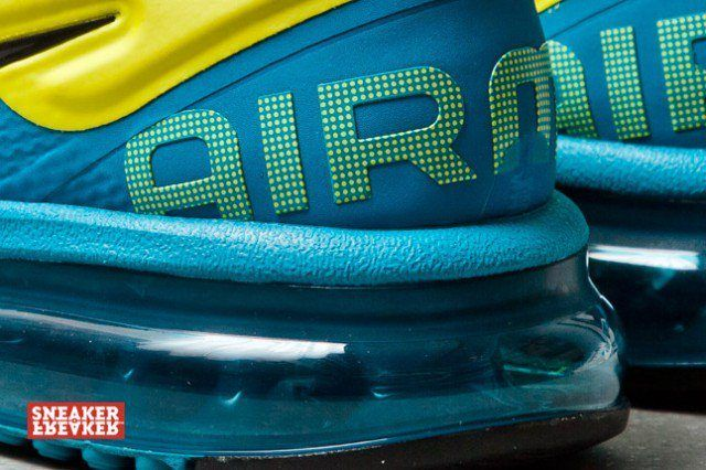 Nike Wmns Air Max Plus 2013 Tropical Teal Sonic Yellow 5 1 640X426