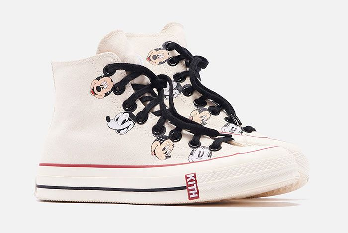 Kith Disney Converse Chuck 70 Mickey Mouse Release Date 3White Hero Shot