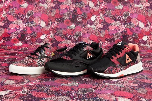 Le Coq Sportif X Liberty Art Fabrics Midnight Pack Ruby Wine