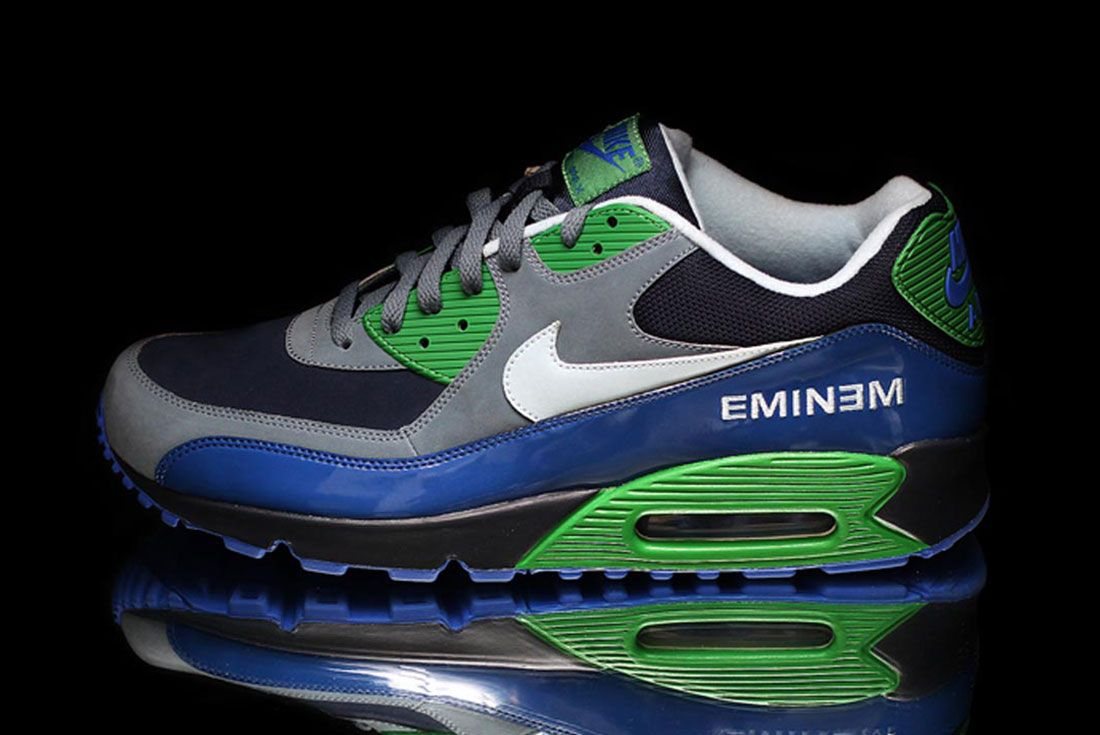 Nike Air Max 90 Eminem Side Shot On Black
