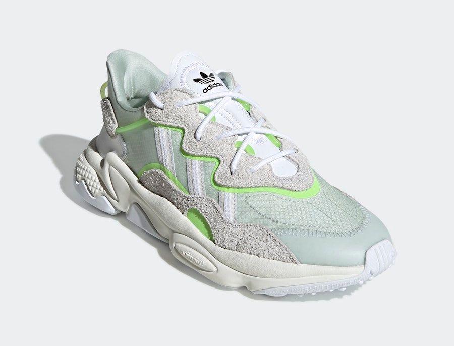 adidas Ozweego Dash Green Angled