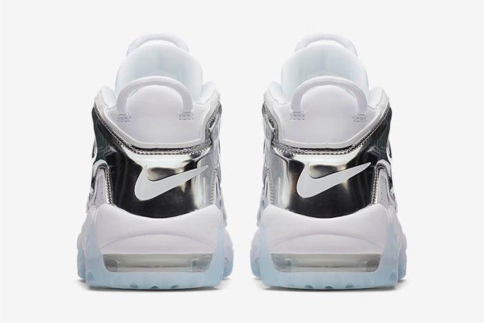 Nike Air More Uptempo Chrome Blue Sneaker Freaker 1