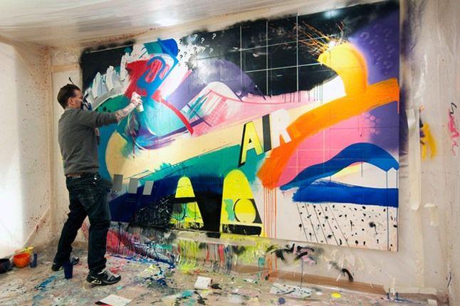 Dave White Installation 1 1