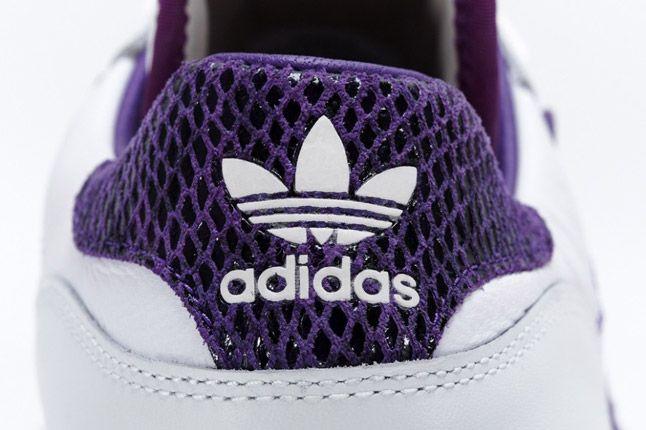 Purple Adidas Rivalry Lo Limited Edition Heel 1
