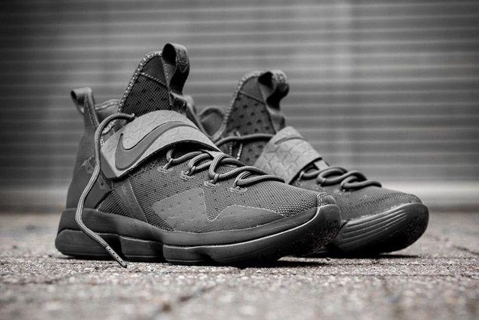 Nike Lebron 14 Triple Black 3