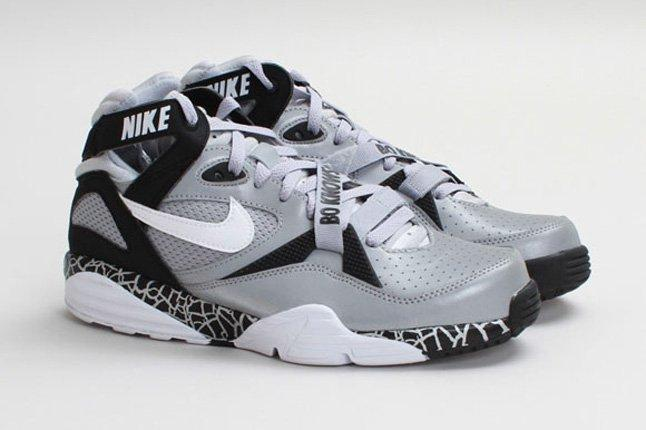 Nike Air Trainer Max 91 Qs Nfl Wolf Greywhite Front Quarter 1