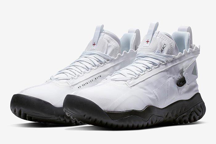 Air Jordan Proto React White Front Angle 2