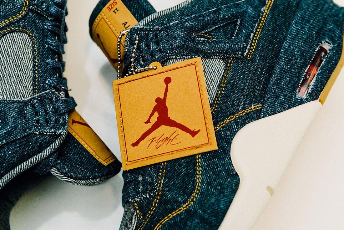 Levis Air Jordan 4 Denim 5