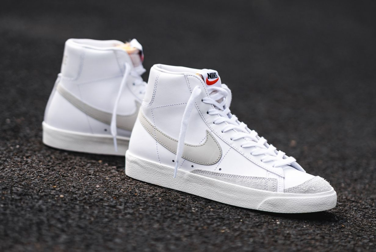 Nike Blazer Mid '77 (White/Light Bone)