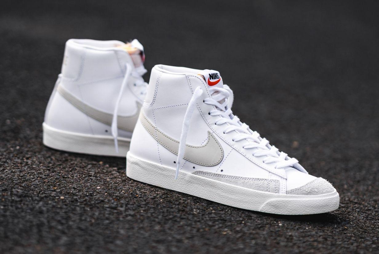 Nike Blazer Mid '77 (White/Light Bone)