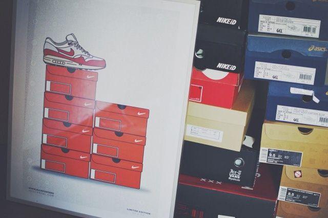 New Range Sneaker Art By Kick Posters 2