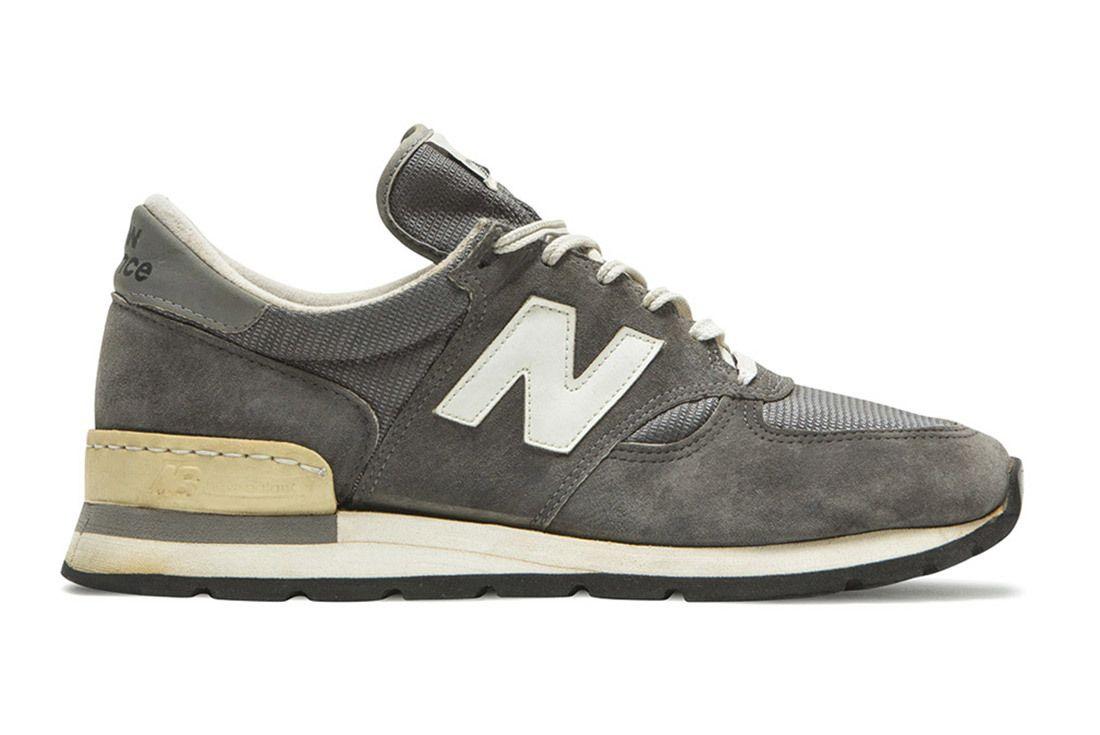 New Balance Grey 990 2