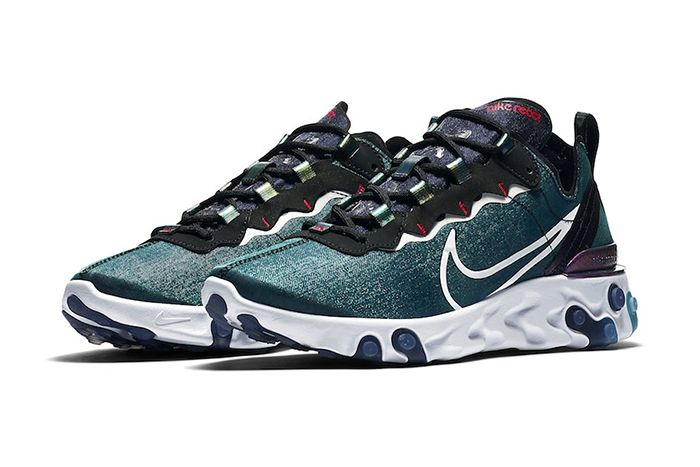 Nike React Element 55 Magpie Cn5797 011 Release Date Pair