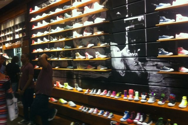 Converse Store New York City Back Wall