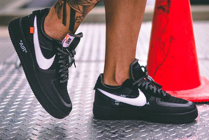 Off White Air Force 1 Black Cone 1