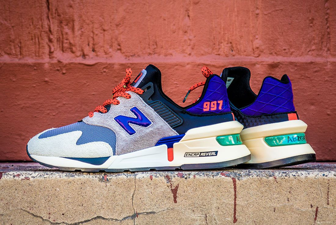 Nb997 S Bodega Sneaker Freaker Exclusive Up Close Side Pair Shot