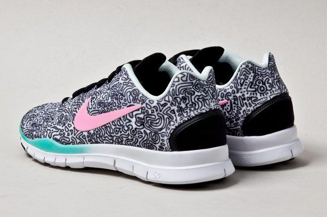 Nike Free Tr Fit 3 Pattern Heels 1