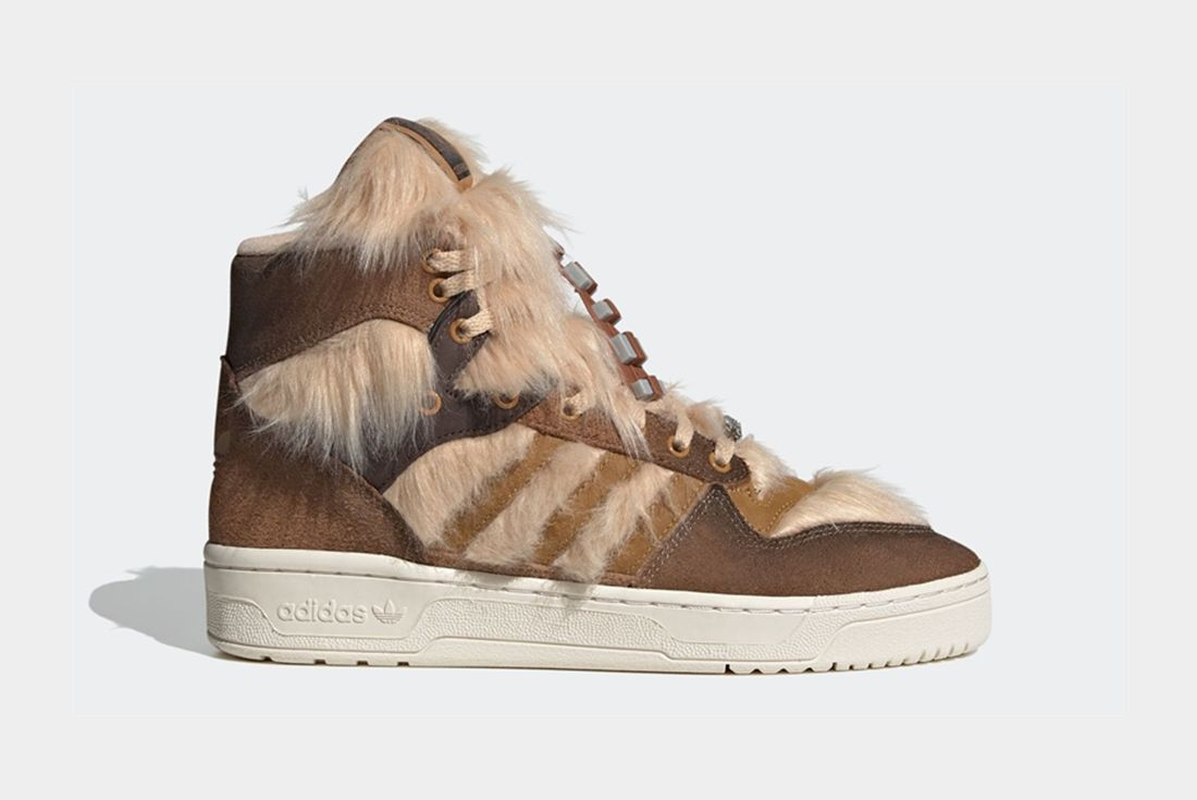 adidas x Star Wars Rivalry Hi Chewbacca Right
