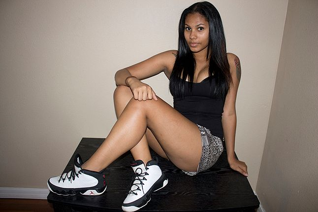 Ericka Female Air Jordan Collector 9 1