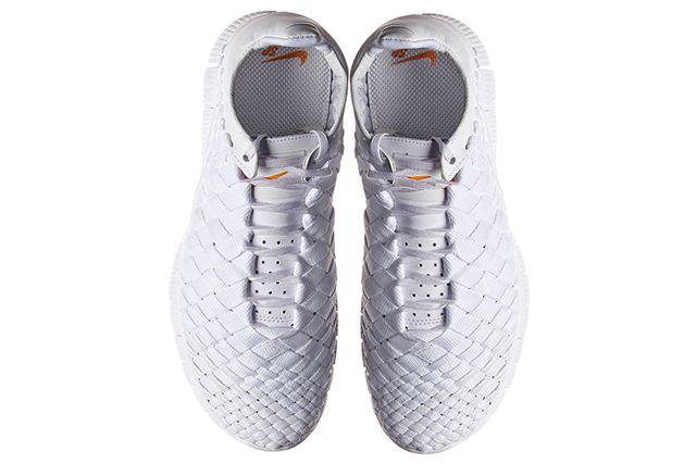 Nike Free Inneva Woven Triple White 3