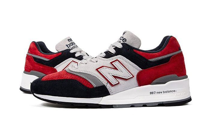 Concepts New Balance 997 New England Exclusive Release Date Pair