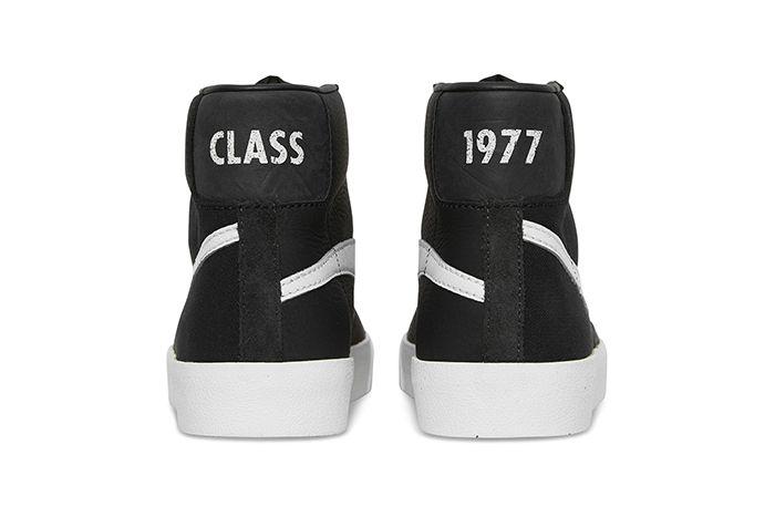 Slam Jam Nike Blazer Mid Class Of 1977 Cd8233 100 Release Date Heel