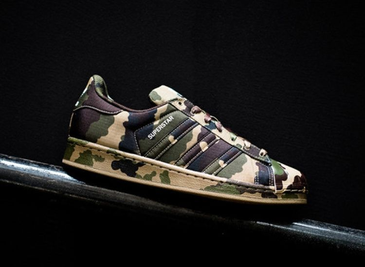 Adidas Superstar Camo 6