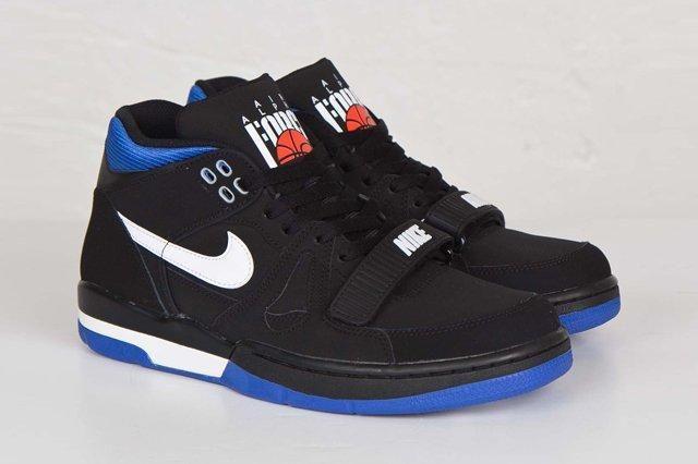 Nike Air Alpha Force Ii Black Royal Blue 2
