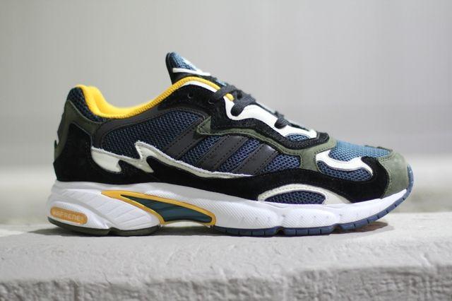 Adidas Originals Temper Run Olive Navy Sunflower 3