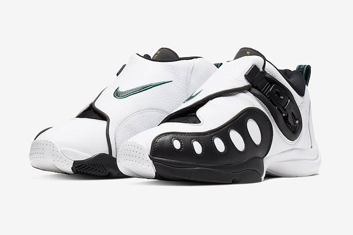 Nike Zoom Gp 2019 Retro White Black Ar4342 100 Release Date Pair