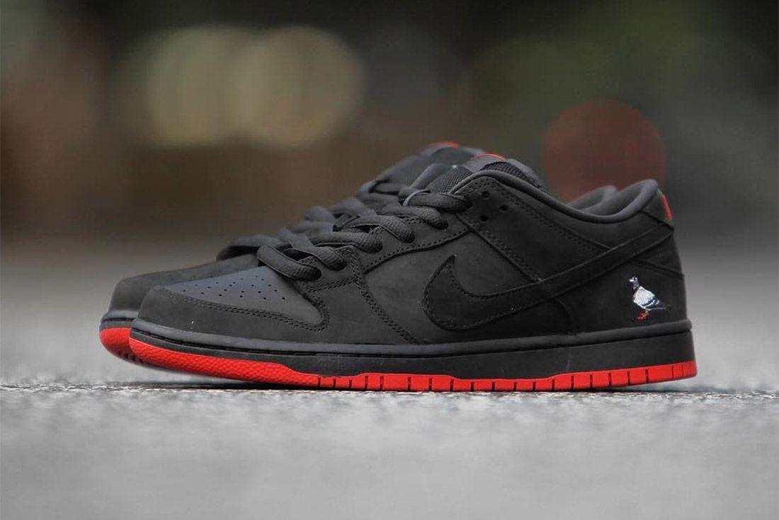 Nike Dunk Low Sb Black Pigeon9