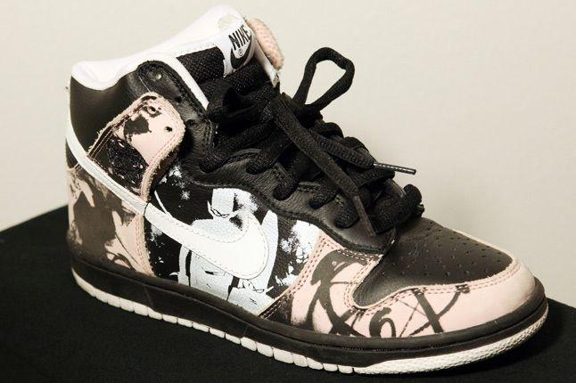 Franalations Nike Dunk Hi Futura 1