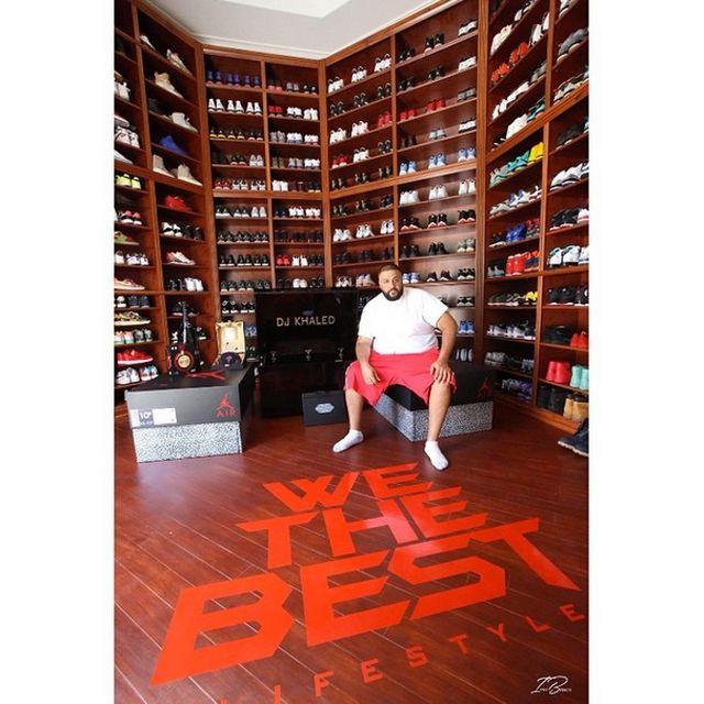 Sneaker Room Dj Khaled 1