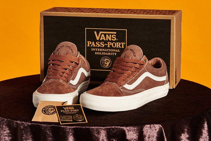 Pass Port X Vans Old Skool Pro