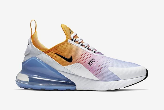 Nike Air Max 270 University Gold University Blue Medial