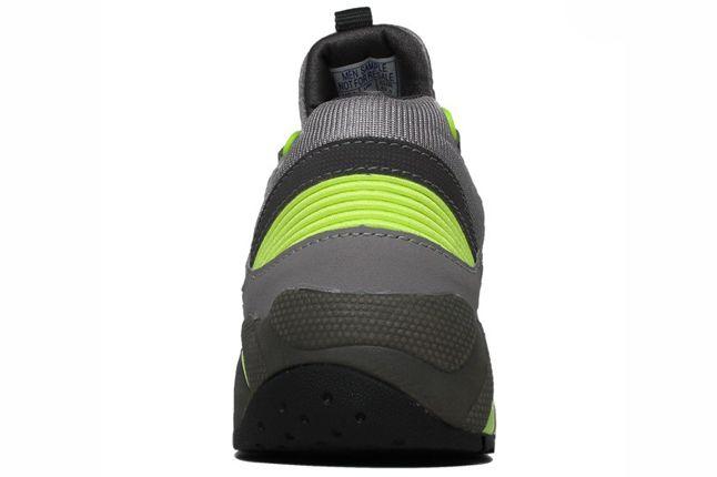 Saucony Grid 9000 Grey Heel 1