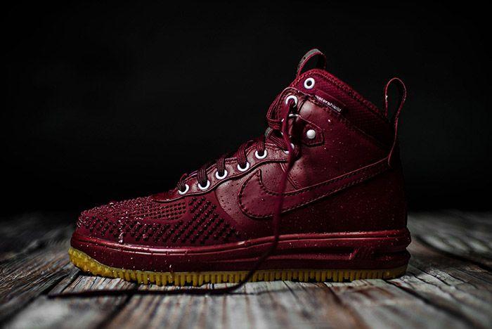 Nike Lunar Force 1 Team Red Gum 3
