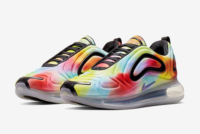Nike Air Max 720 Tie Dye Quarter