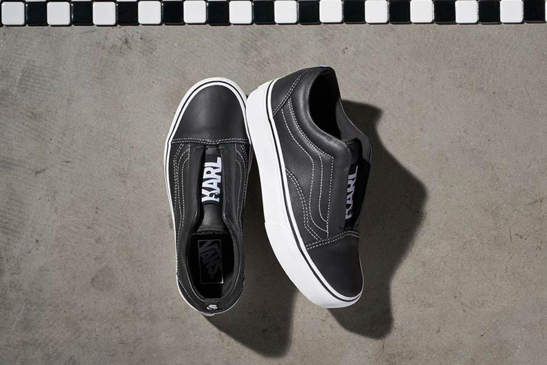 Karl Lagerfield X Vans Collection 7
