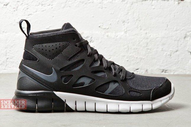 Nike Wmns Free Run 2 Mid Anthracite Summit White 3