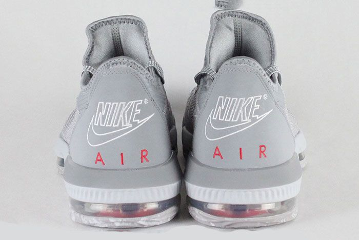Nike Lebron 16 Ohio State Heel
