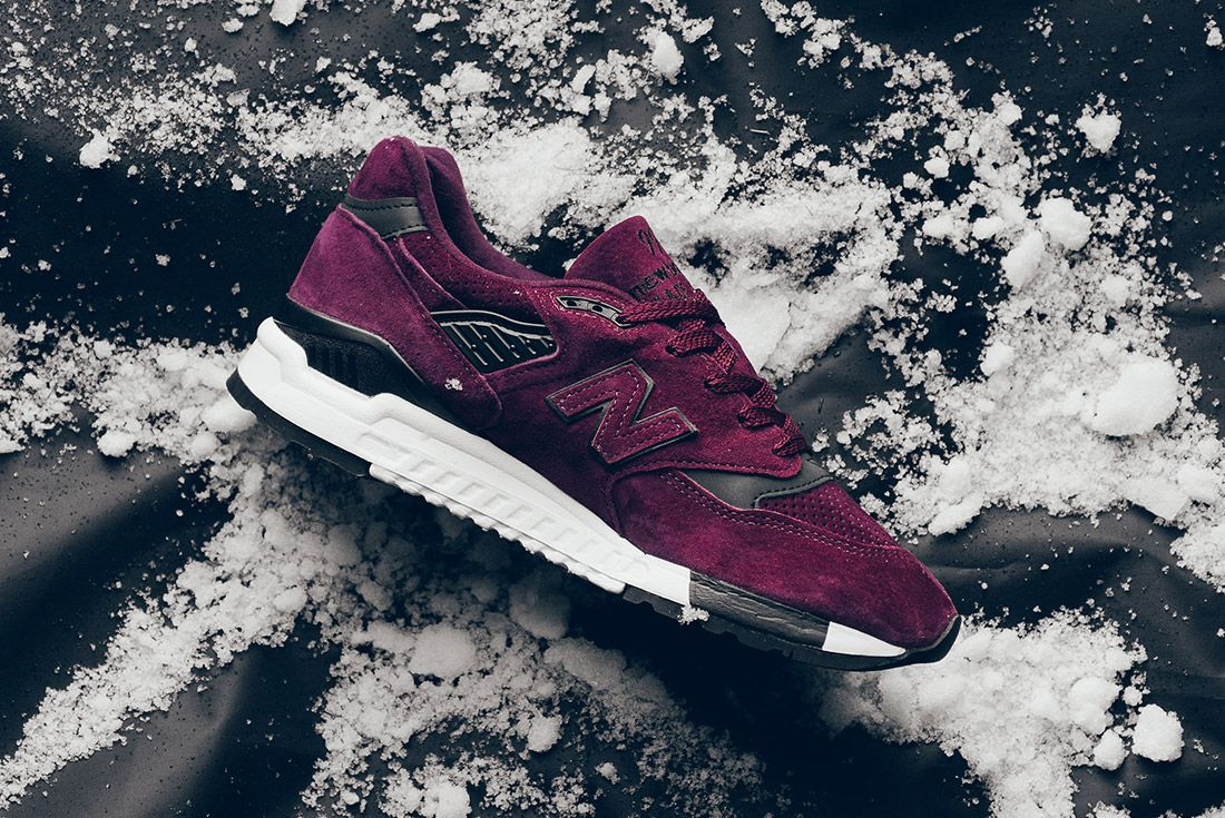 New Balance M998 Cm 998 Burgundy Sneaker Politics Sneaker Freaker 5