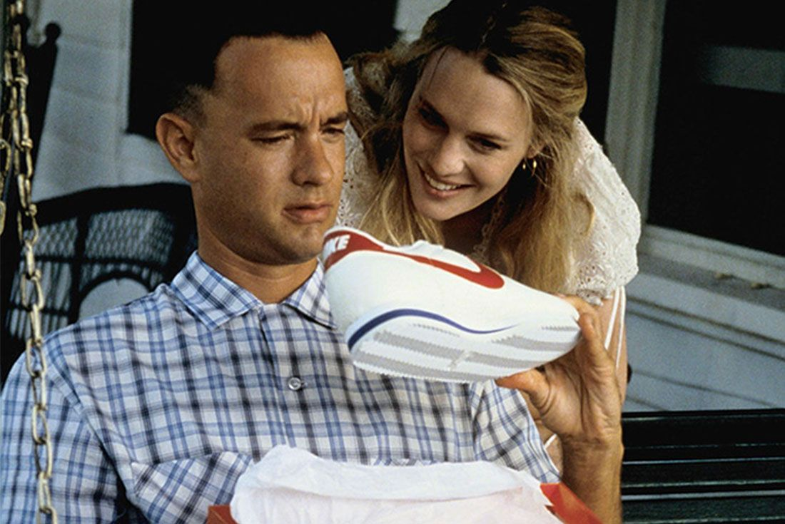 Tom Hanks Nike Cortez Runner Forest Gump
