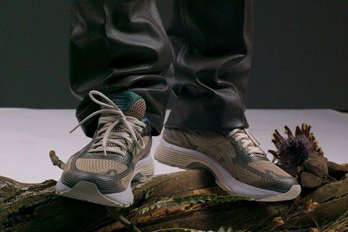 Asics Gel Nimbus On Foot Pair
