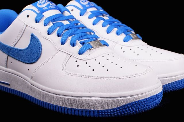 Nike Air Froce 1 Photo Blue Suede 1