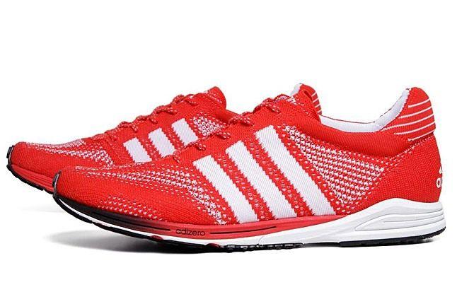 Red Adidas Primeknit 1