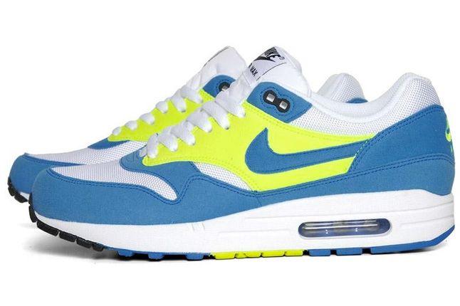 Air Max 1 Blue Glow Volt 4 1